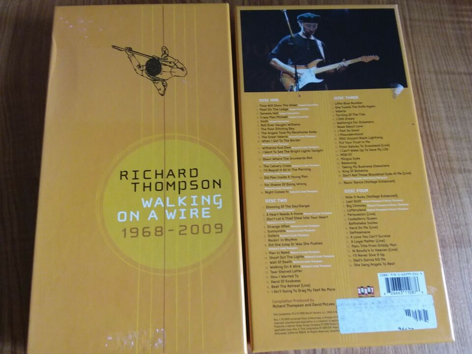 Richard Thompson: Walking on a wire, folk