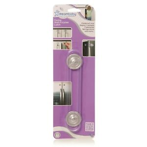 Dreambaby Child Safety Multi Purpose Latch Suitable For Most Cabinets & Drawers