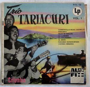 Trio-Tariacuri-Vol-1-Mexico-Mexiko-Musik-Columbia-10-034-LP