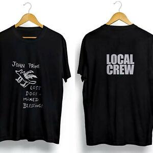 Rare-new-vintage-90s-John-Prine-Lost-Dogs-Local-Crew-Tour-T-Shirt-Gildan-S-2XL