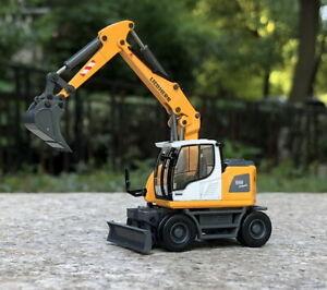 Schuco-1-87-HO-LIEBHERR-A-918-Mobile-Excavator-Diecast-car-Model