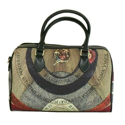 Gattinoni Planetarium BEGPL6554WPQP26 Bowling Bag Tasche Zip Leder