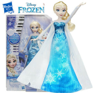 Disney-Frozen-Elsa-Play-A-Melody-Gown-Doll-Kid-Action-Figure-Girl-Toy-Set