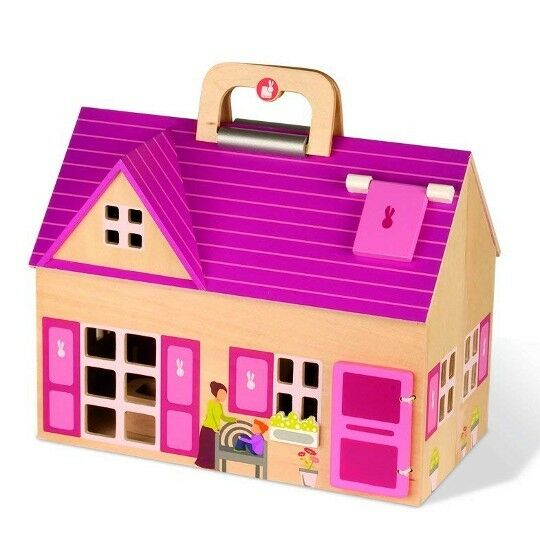 The Home  From The Mobil City Collection By Janod  Complete With Accessories