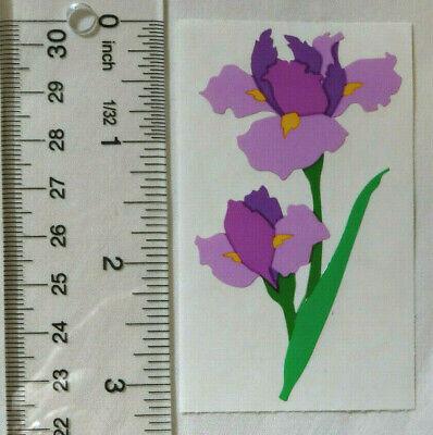 LARGE Mrs Grossman IRIS Half Strip Rare Vintage Large Iris Sticker