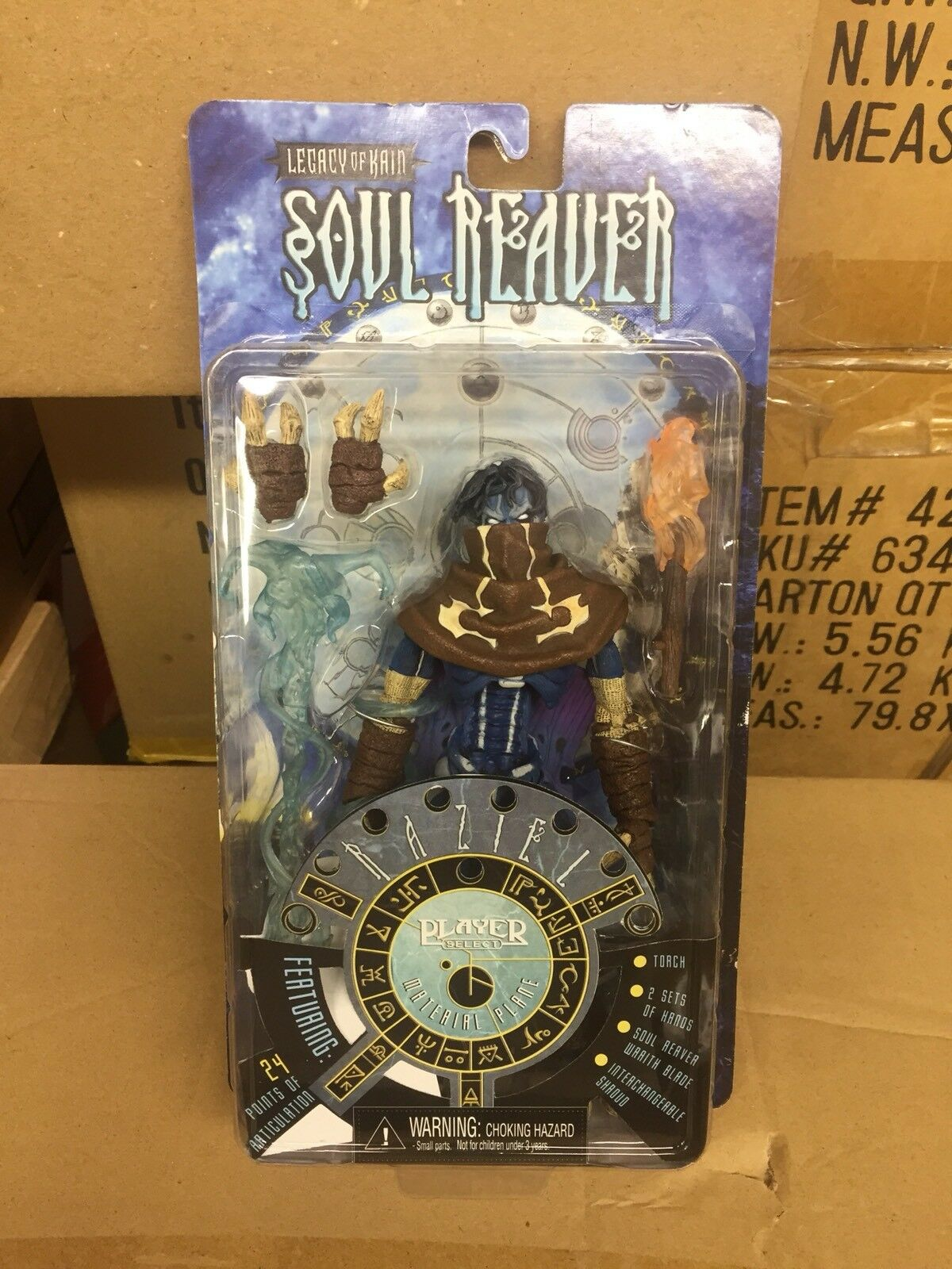 Neca Neca Neca legacy of kain soul reaver raziel figure Authentic b58e0f