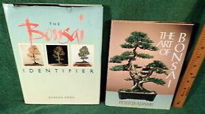 2 Bonsai Books The Art Of Bonsai By Peter Adams Bonsai Identifier By Owen Ebay