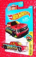 2016  Hot Wheels HW Art Cars Chevy Silverado #200  DHX70-D9B0P