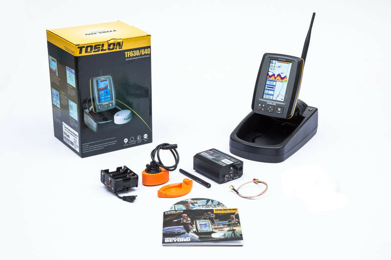 BAIT BOAT FISHFINDER WIRELESS TF640 GPS 2,4GHZ 300M