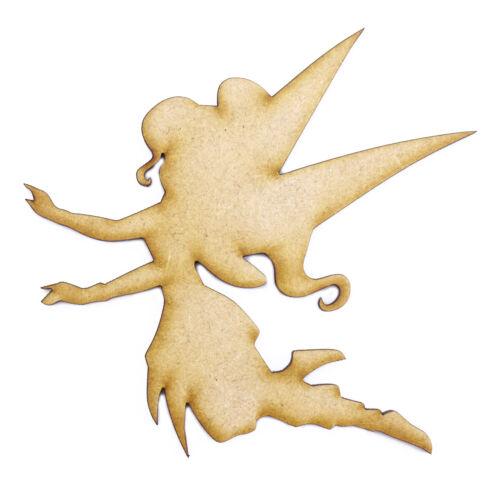 3mm MDF Laser Cut Craft Blank Scrapbook Card Topper Embellishment Shape Fairy
