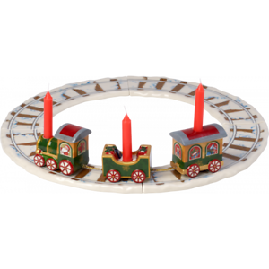 Villeroy /& Boch Christmas NORTH POLE EXPRESS Train with Rails