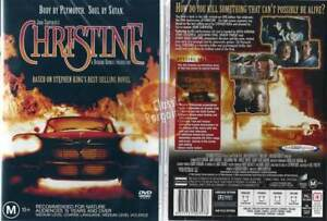 CHRISTINE-Stephen-King-Keith-Gordon-John-Stockwell-NEW-DVD-Region-4-Australia