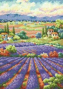 Dimensions-Needlecrafts-Counted-Cross-Stitch-Fields-of-Lavender