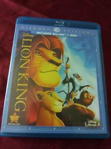 Disney The Lion King Diamond Edition Blu Ray Dvd Combo Set Movie Cartoon Classic 6710836815139 Ebay