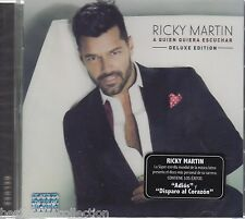 Deluxe Edition - Ricky Martin CD A Quien Quiera Escuchar BRAND NEW