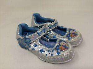 6f014fb34b27 New w/defect! Girl's Toddler Disney Frozen Mary Jane 39204 Blue ...