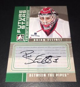 BRIAN-ELLIOTT-2008-09-ITG-BETWEEN-THE-PIPES-AUTO-FUTURE-STARS-A-BE-CARD-FLYERS