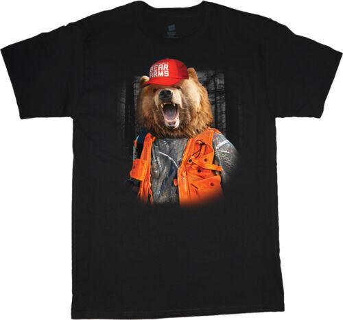 2nd Amendment Gun Owner Rights Trump MAGA Hunting T-shirt Men/'s Graphic Tee
