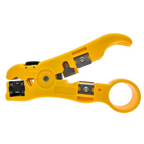 Ethernet Network LAN RJ45 Cable Crimper Pliers Repair Tool RJ12 CAT5 CAT6 I8U1
