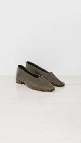 MARTINIANO Glove Olive Dark Green Sock Leather Gar