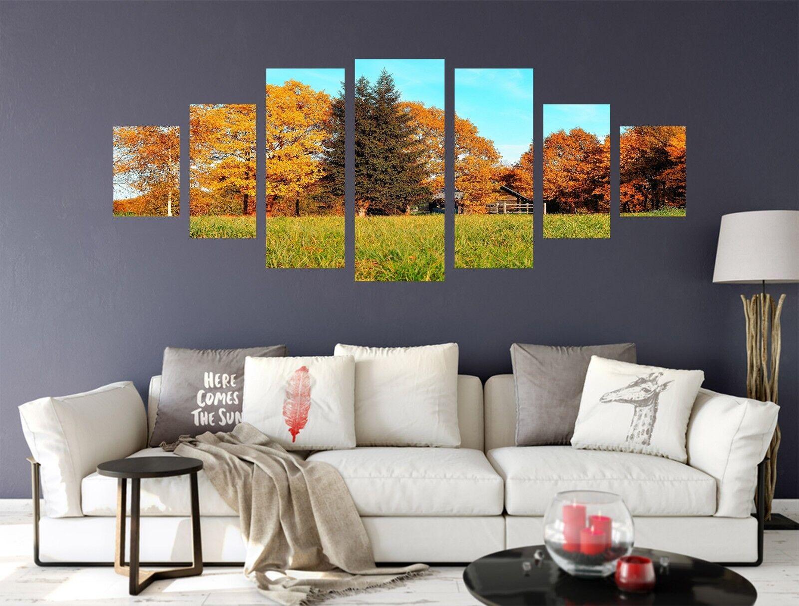 3D Forest Meadow 566 Unframed Drucken Wand Papier Decal Wand Deco Innen AJ Wand