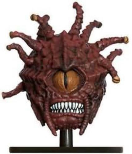 D&D Mini-Ojo de llama  14 Beholder    (calabozos de miedo-Raro y  sin Usar )