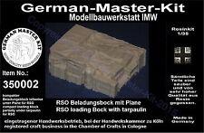 350002,Ladegut, 1:35, kompakter Beladungsblock für RSO, Resin, GMKT World of War