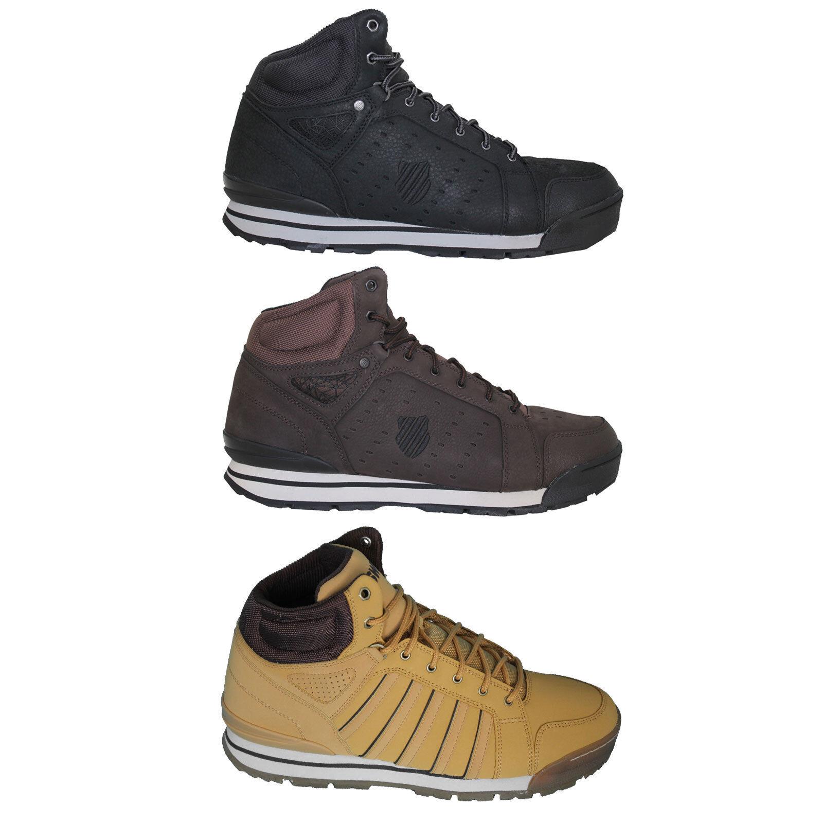 K-swiss Norfolk Botas De Hombre piel Zapatillas deportiva Botín Outdoor piel Hombre NUEVO 2a2c20