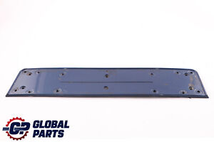 BMW 5 Series E60 E61 LCI M Sport Licence Plate Holder Base Le Mans Blau 7897181