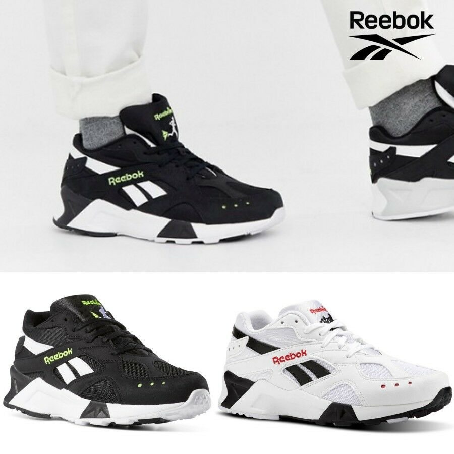 Reebok Classics AZTREK Running shoes Sneakers Black White CN7187 SZ4-12.5