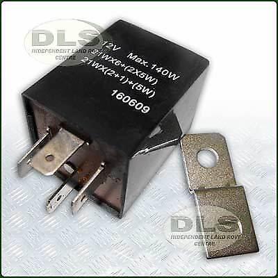 Centrale clignotante Unité Relais 4-pin pour le Remorquage Land Rover Defender PRC8876 rrover Classic