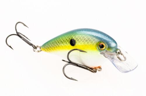 """Silencieux crankbaits Bass Fishing Lure 3.8 cm Strike King cette méthode Square Bill 1.5/"""""""