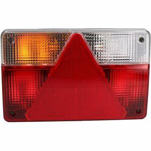 Trailer-Caravan-Left-Light-Replacement-Lamp-with-AJBA-6-PIN-Plug-Indespension