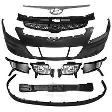 Set Stoßstange vorne +Nebel+Zubehör für Hyundai i30 Bj. 07-10 Limousine Kombi CW