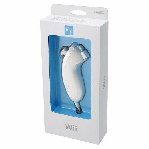Nintendo Wii White Nunchuck | Official Genuine RVL-004 Wii U | 3 MONTH WARRANTY