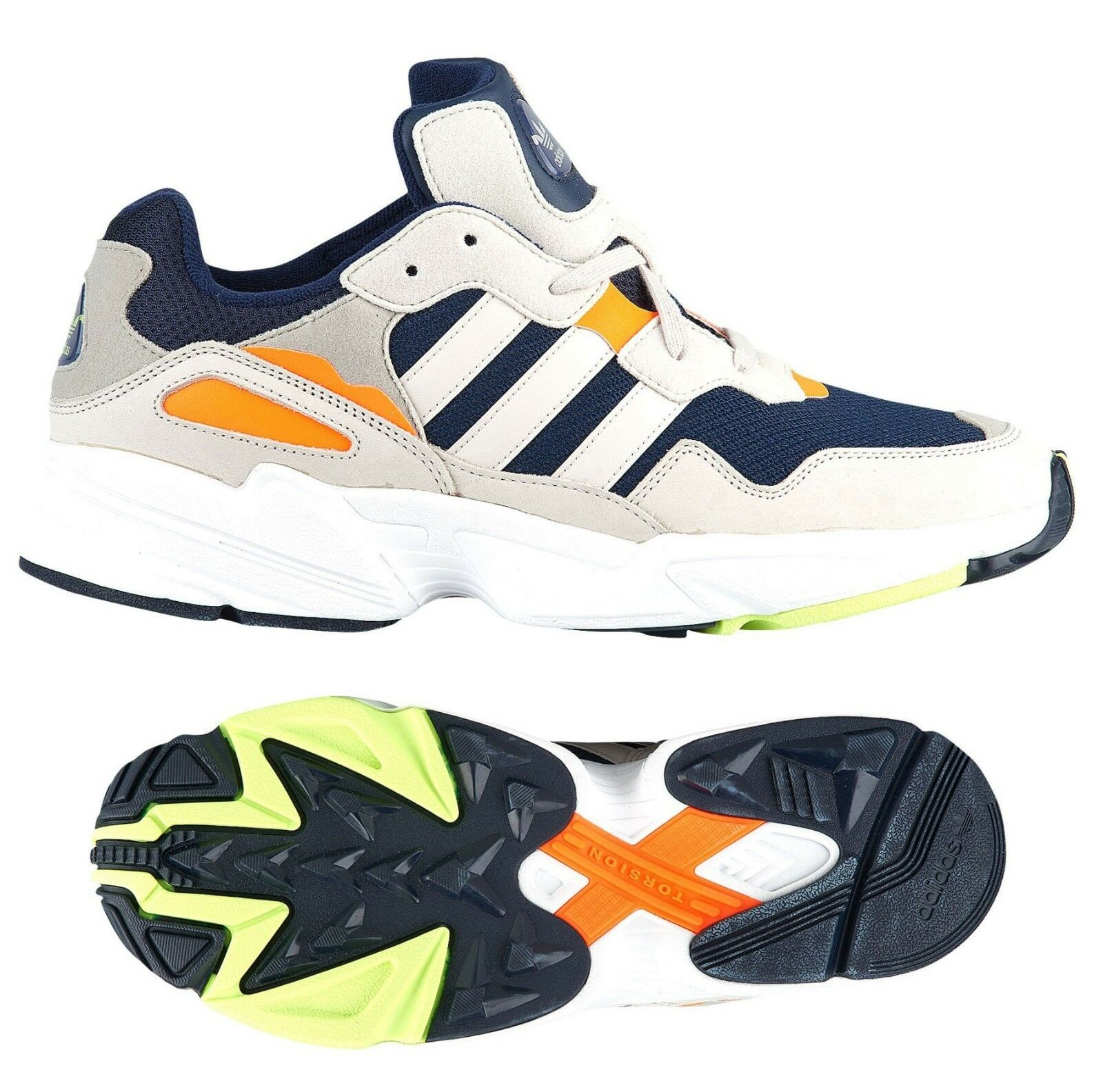 New ADIDAS Originals Yung 96 Sneaker Mens navy white all size