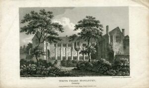White-Friars-Monastery-Coventry-Engraving-By-J-Storer-IN-1810