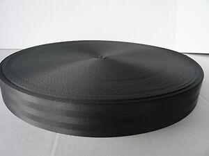 Sicherheitsgurt 30 mm, Meterware, 1500 daN, Polyester Gurt Band Gurtband