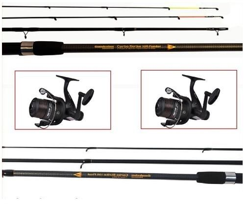 Float and Feeder Fishing Rods & Reels  Feeder & Float Rods & 2 Shakespeare reels