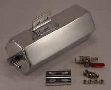 Fabricated Polished Aluminum Coolant Overflow Tank Mustang Camaro Charger Custom