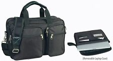 Expandable Laptop Portfolio Organizer Briefcase Bag for Office or School