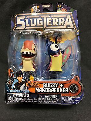 Slugterra Series 5 Bugsy /& makobreaker Mini Figure 2-Pack
