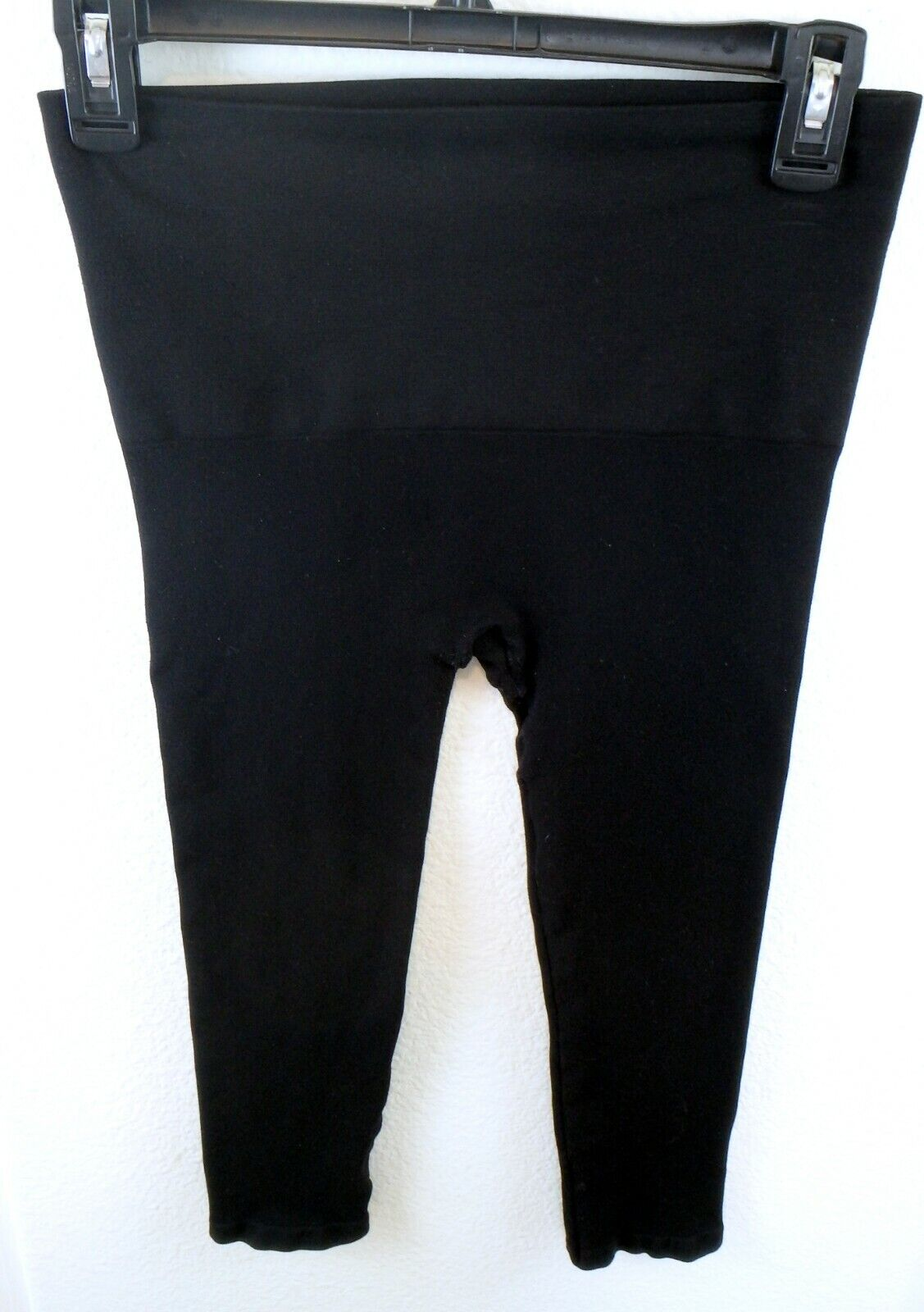 Star power by spanx tout & about shaping leggings wide waist band Capri M Medium