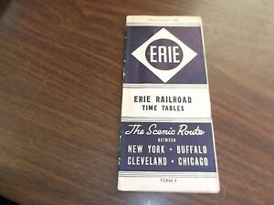 FEBRUARY-1946-ERIE-RAILROAD-FORM-1-SYSTEM-PUBLIC-TIMETABLE
