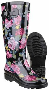 Cotswold-Rosefest-Impermeable-Agua-Mujer-Botas-Mujer-Goma-Botas-UK3-8