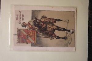 Stuttgart-1927-alte-Color-AK-Wuertt-Kriegerbund-1877-1927-Jubilaeumskarte