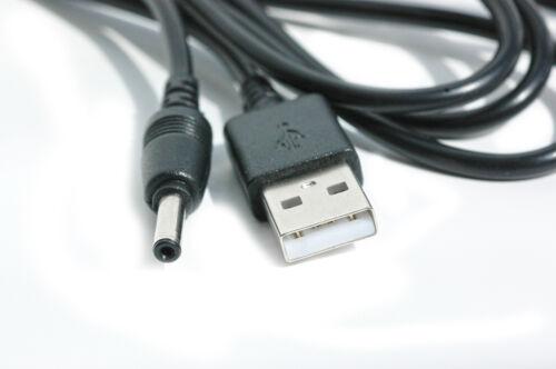 2 M USB Cable Negro para BT 350 Lightshow Bebé Unidad Digital Bebé Monitor