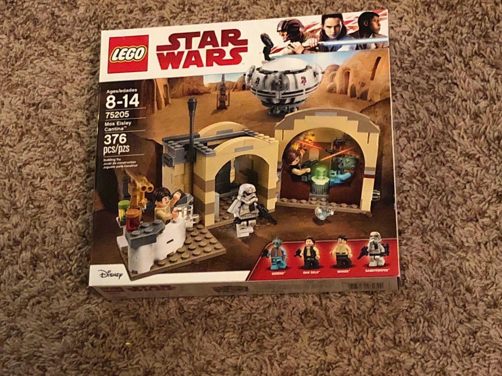 Star Wars LEGO 75205 MOS EISLEY CANTINA NEW SEALED SOLO GREEDO WUHER RARE