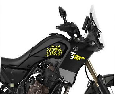 Prot/ège R/éservoir Moto Tank Pad Sticker Autocollant YAMAHA MT-07 Neo Yellow