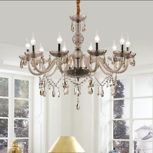 Lustre-Suspendu-en-Cristal-10-Feux-Cognac-Plafonnier-Lampe-Suspension-Decor